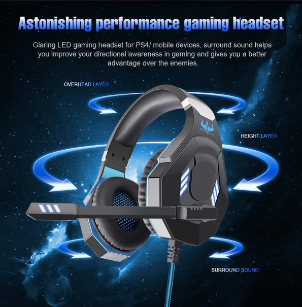 Ovleng GT-93 Luminous Gaming Headset