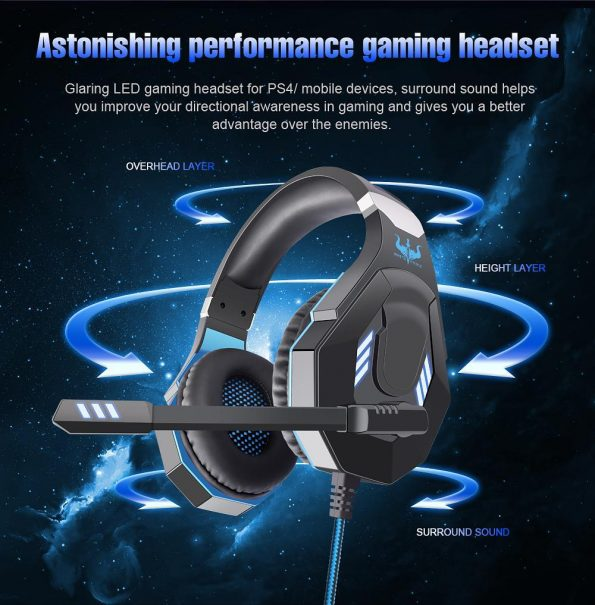 Ovleng GT-93 Luminous Gaming Headset