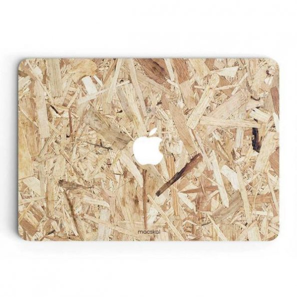 MacBook Air 13″ (2012-2017) – Skin + Hard Case - Plywood