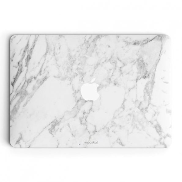 """MacBook Pro Retina skin 13"""" - White Marble"""