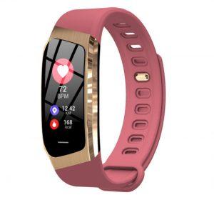 HeartFit Aktivitetsarmband för IOS/Android - Rosa