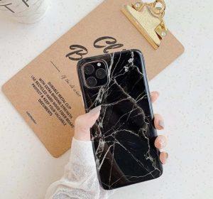 Blackstone Marble – iPhone 11 Pro Max Skal