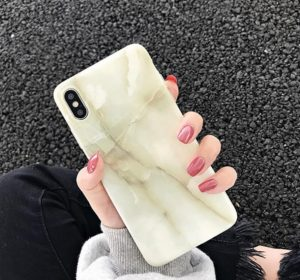 Lime Marble - iPhone 11 Pro Skal