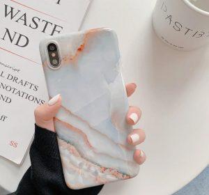 Soleto Pink Marble - iPhone 11 Skal