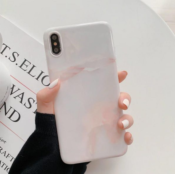 Pearl Marble - iPhone 11 Skal