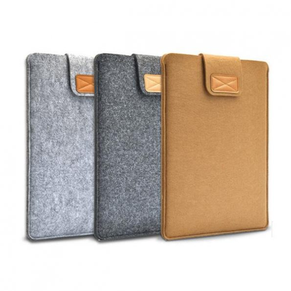 "Macbook Wool Case 15"" - Svart"