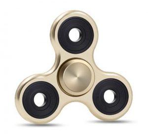 Fidget Spinner - Titanium - Guld