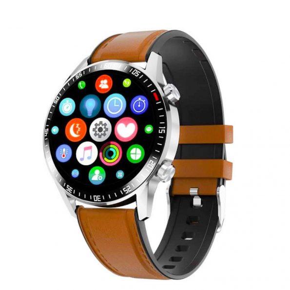 Quota Sharp Smartwatch - Brun Läder