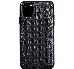 Croco – iPhone 11 Pro skal - Svart