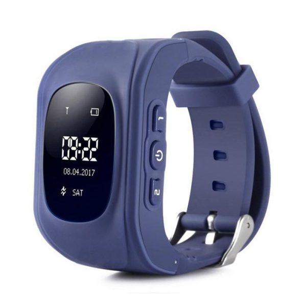 Klocka med GPS för barn - Blå