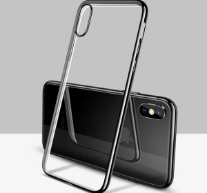 Luxury Slim Bumper - iPhone x skal - Svart