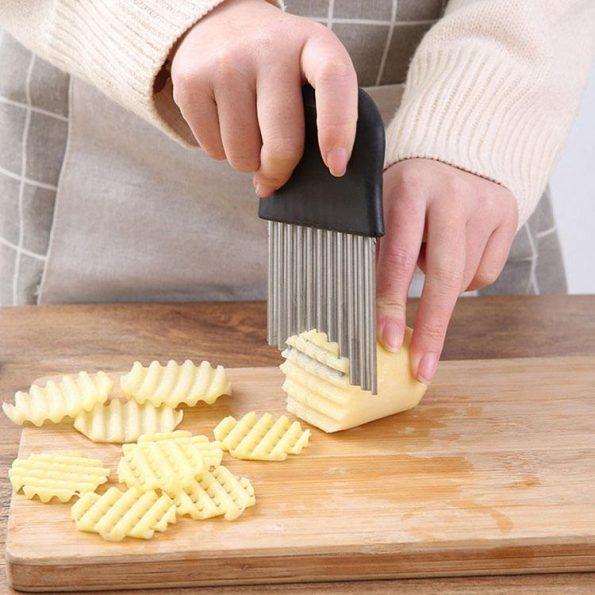 Crinkle Cutter - Potatis & grönsaker