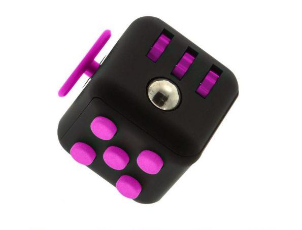 Fidget Cube - Rosa/svart