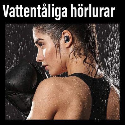 In ear X8 TWS - Vattentåliga hörlurar